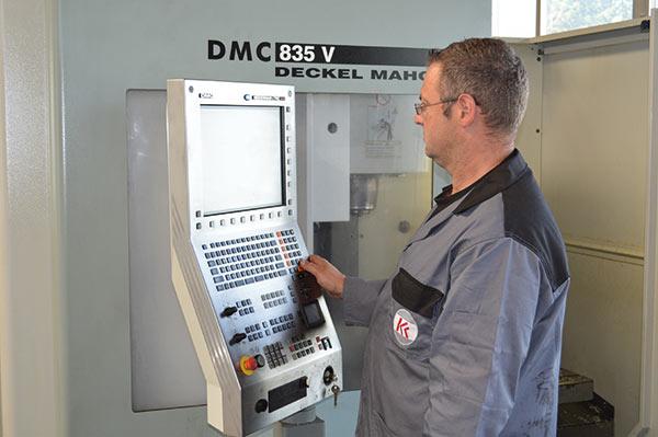 Krumscheid Maschinenbau Maschinensteuerung