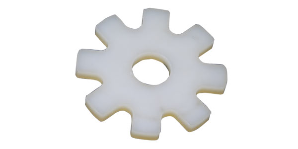 Zahnrad aus Polyurethan gefertigt