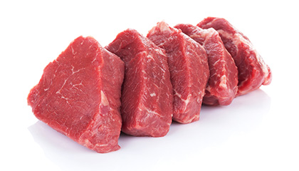 Fleisch Fördergut Lebensmittelindustrie
